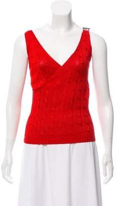 Ralph Lauren Sleeveless Knit Top
