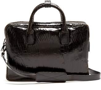 Mack cracked-leather backpack Marc Marmel jT8adC75e