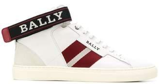 Bally logo ankle strap sneakers