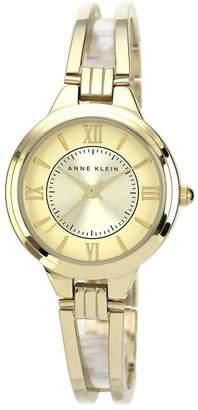 Anne Klein Women's Goldtone or Two-Tone Bracelet Watch