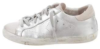 Golden Goose Superstar Metallic Sneakers