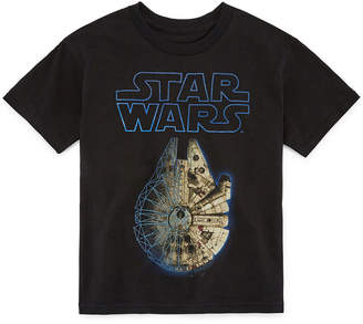 Star Wars Novelty T-Shirts Graphic T-Shirt-Big Kid Boys