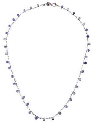 Me & Ro Me&Ro Iolite Bead Strand Necklace