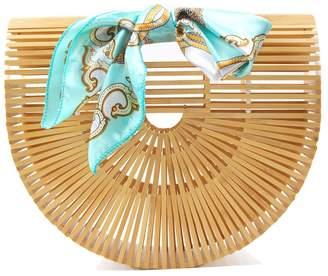 DAY Birger et Mikkelsen DSAKGTE Womens Top Handle Bamboo Bag Handmade Handbags Tote Beach Bag