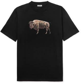 Lanvin Printed Cotton-Jersey T-Shirt