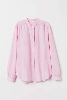 af16b2f7d5152a H&M Pink Women's Longsleeve Tops - ShopStyle