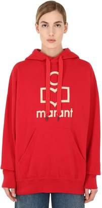 Etoile Isabel Marant Oversized Logo Cotton Sweatshirt Hoodie