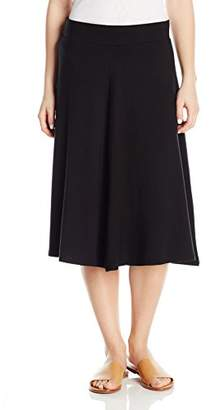Ruby Rd. Women's Pull-on Solid Knit Skirt