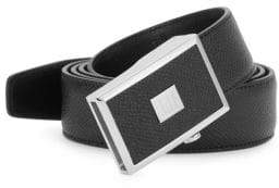 Dunhill Saffiano Leather Belt