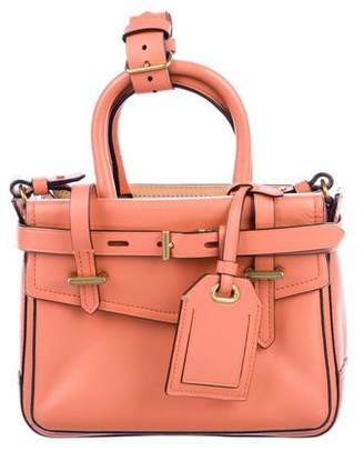 Reed Krakoff Micro Leather Boxer Satchel