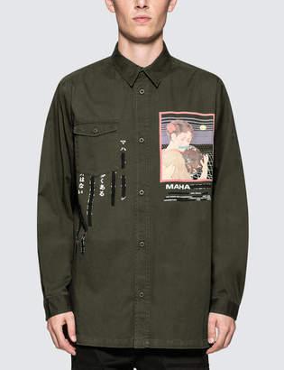 MHI Tron Geisha MIL Shirt