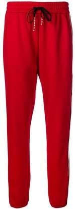 Pinko side stripe track pants