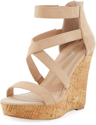Charles by Charles David Alexa Strappy Wedge Sandals