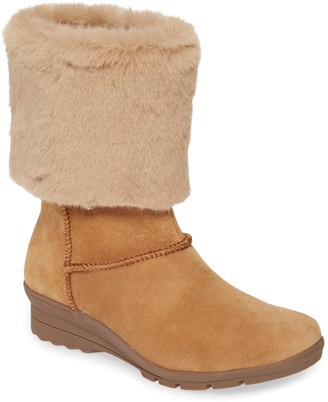 Taryn Rose Erica Faux Fur Weatherproof Boot