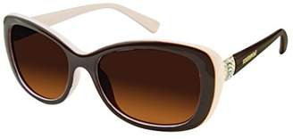 Southpole Women's 242sp-Brnd Cateye Sunglasses