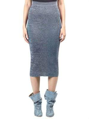 Stella McCartney Fit Knit Flare Pencil Skirt