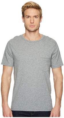 7 For All Mankind Short Sleeve Raw Pocket Crew Men's Clothing