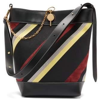 J.W.Anderson Keyts Leather Tote Bag - Womens - Black Multi