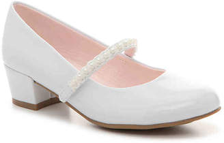 Olive & Edie Pearl Toddler & Youth Mary Jane Pump - Girl's