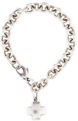 Tiffany & Co. Cross Charm Bracelet