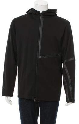 Y-3 Hooded Zip-Up Sweatshirt