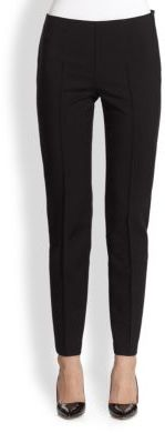 Saks Fifth Avenue Collection Skinny Tuck Pants