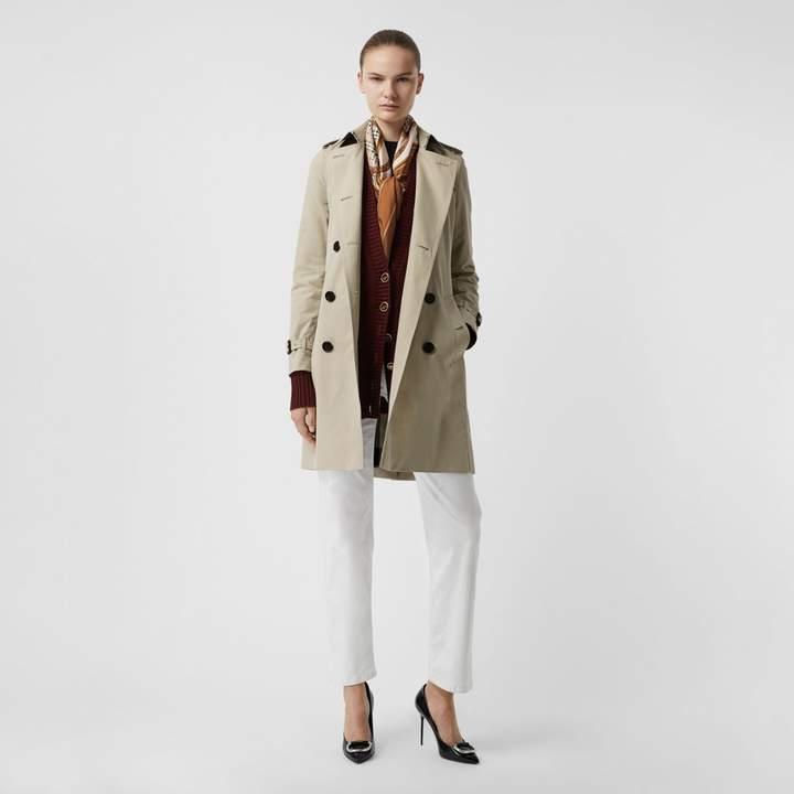 Kensington Fit Cotton Gabardine Trench Coat