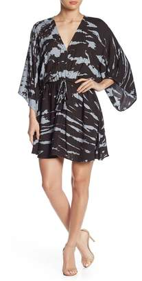 Young Fabulous & Broke Charlotte Tie Dye Dolman Tassel Dress