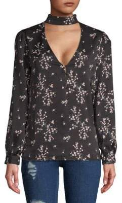The Harper Choker Blouse