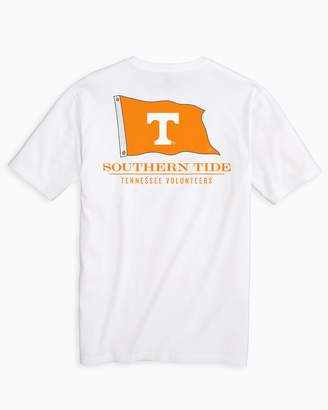 Southern Tide Gameday Nautical Flags T-shirt - University of Tennessee