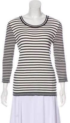 Karl Lagerfeld Striped Long Sleeve Sweater w/ Tags