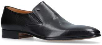 Stemar Leather Slip-On Shoes
