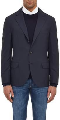 Brunello Cucinelli Men's Wool-Silk Three-Button Sportcoat
