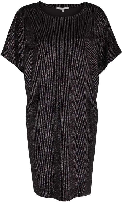 Nikina Sparkle Stripe Velvet Dress