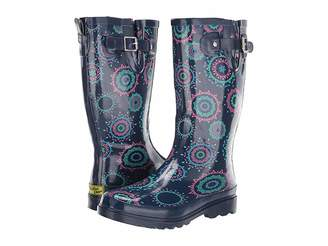 Western Chief Mandala Dot Women's Rain Boots