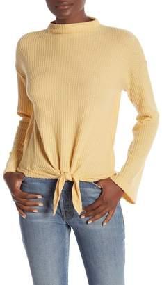Socialite Tie Front Sweater