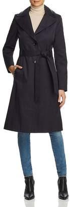 Via Spiga Contrast Trimmed Trench Coat