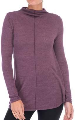 Bobeau Belle Mock Neck Sweater