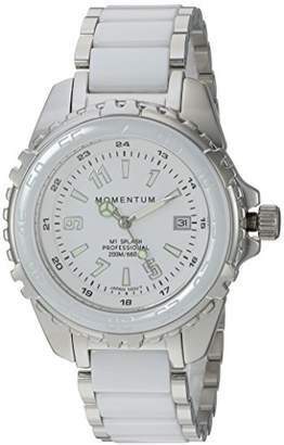 Momentum Women's Quartz Stainless Steel and Ceramic Diving Watch