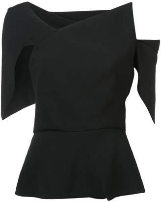 Roland Mouret asymmetrical blouse