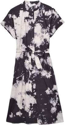 Sea Ione Shirt Dress in Black Multi