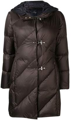 Fay padded hooded coat