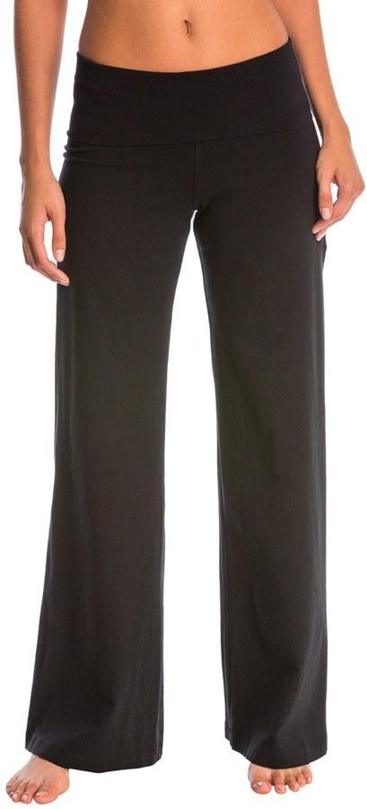 Hard Tail Contour Rolldown Wide Leg Yoga Pants 8145878