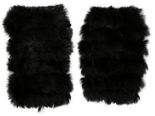 Jocelyn Fur Fingerless Gloves