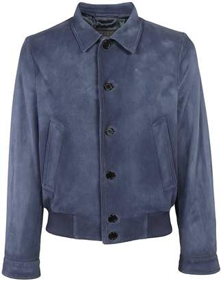 Prada Notched Collar Bomber