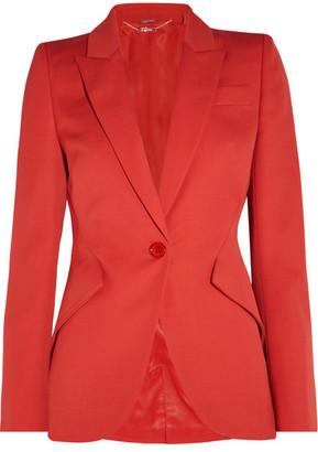 Alexander McQueen - Wool-crepe Blazer - IT36 $1,995 thestylecure.com
