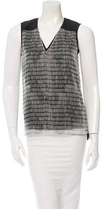 Reed Krakoff Silk Top