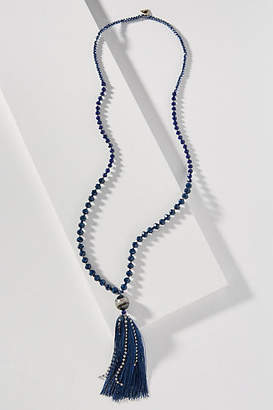 Anthropologie FiFi Tasseled Pendant Necklace