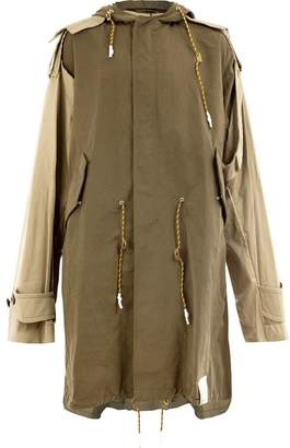 Miharayasuhiro hooded coat