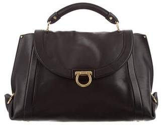 8470cfdc07 Pre-Owned at TheRealReal · Salvatore Ferragamo Suzanna Leather Satchel